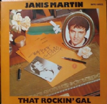 JANIS MARTIN - THAT ROCKIN' GAL - GREAT ROCK & ROLL 14 TRACKS - BEAR FAMILY